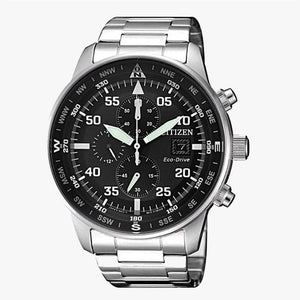 Citizen Aviator CA0690-88E Eco Drive Herrenuhr mit Chronograph