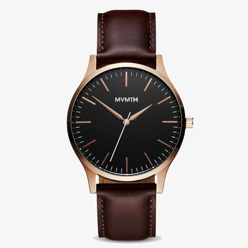 MVMT D-MT01-BLBR 40 Series Rose Gold Brown Herrenuhr