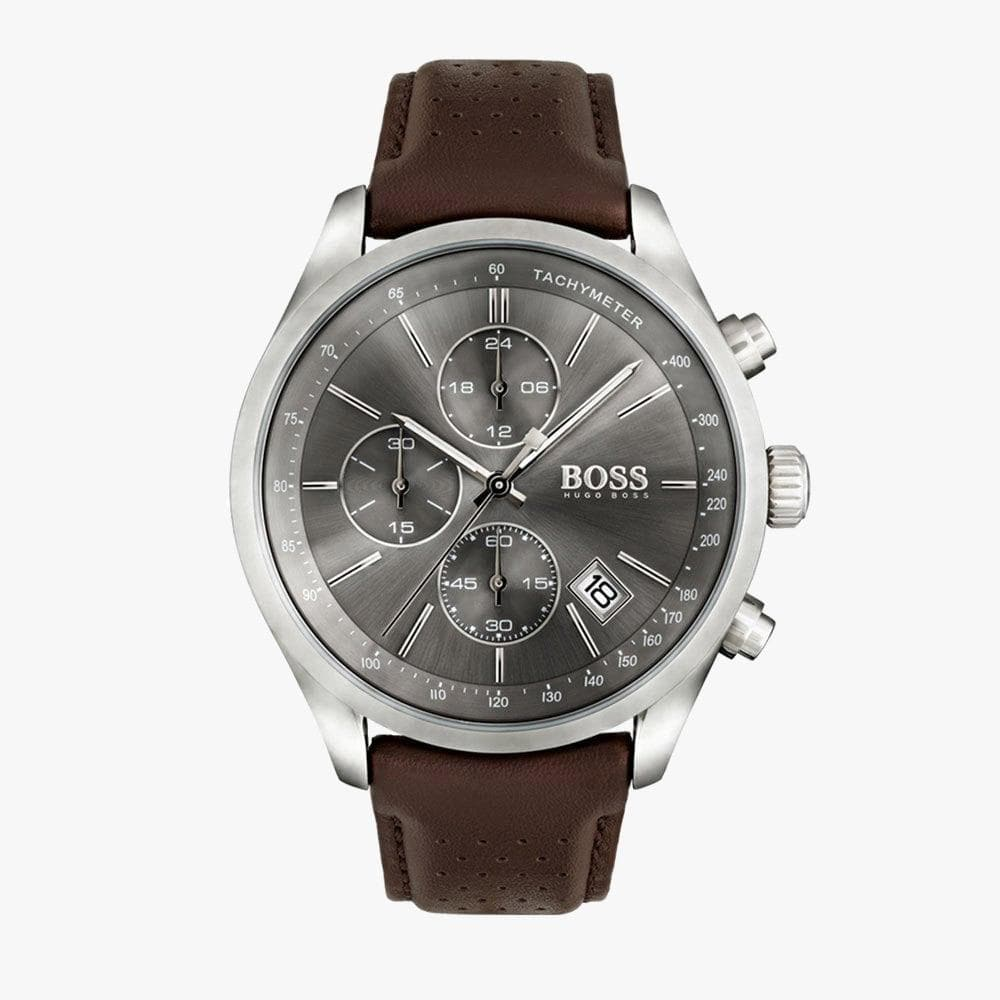 Hugo Boss HB1513476 Grand Prix Herrenarmbanduhr mit Chronograf