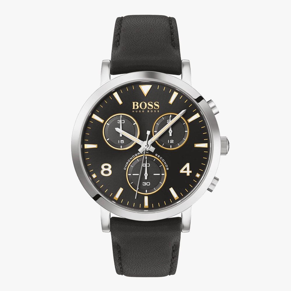 Hugo Boss HB1513766 Spirit Herrenuhr mit Chronograph