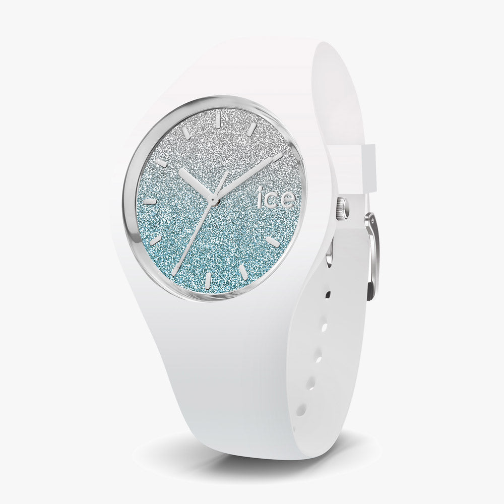 Ice-Watch Ice Lo White Blue Small IW013425 34 mm Damenuhr