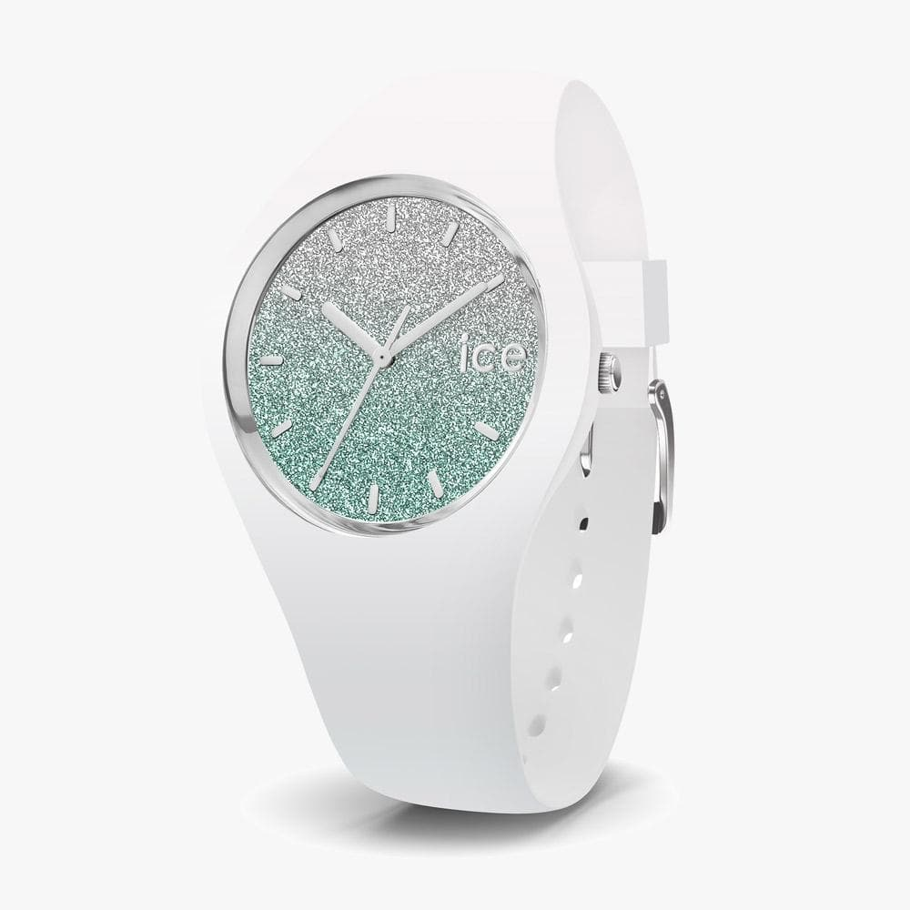 Ice-Watch ICE Lo white Uhr IW013426 Turquoise Small 34 mm