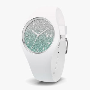Ice-Watch ICE Lo white Uhr IW013430 Turquoise Medium 40 mm