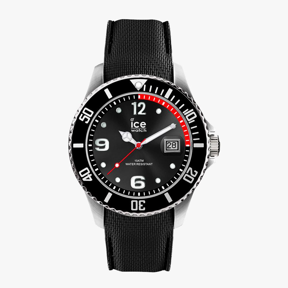 Ice-Watch ICE Steel - Black - Medium IW016030 Herrenuhr 40 mm