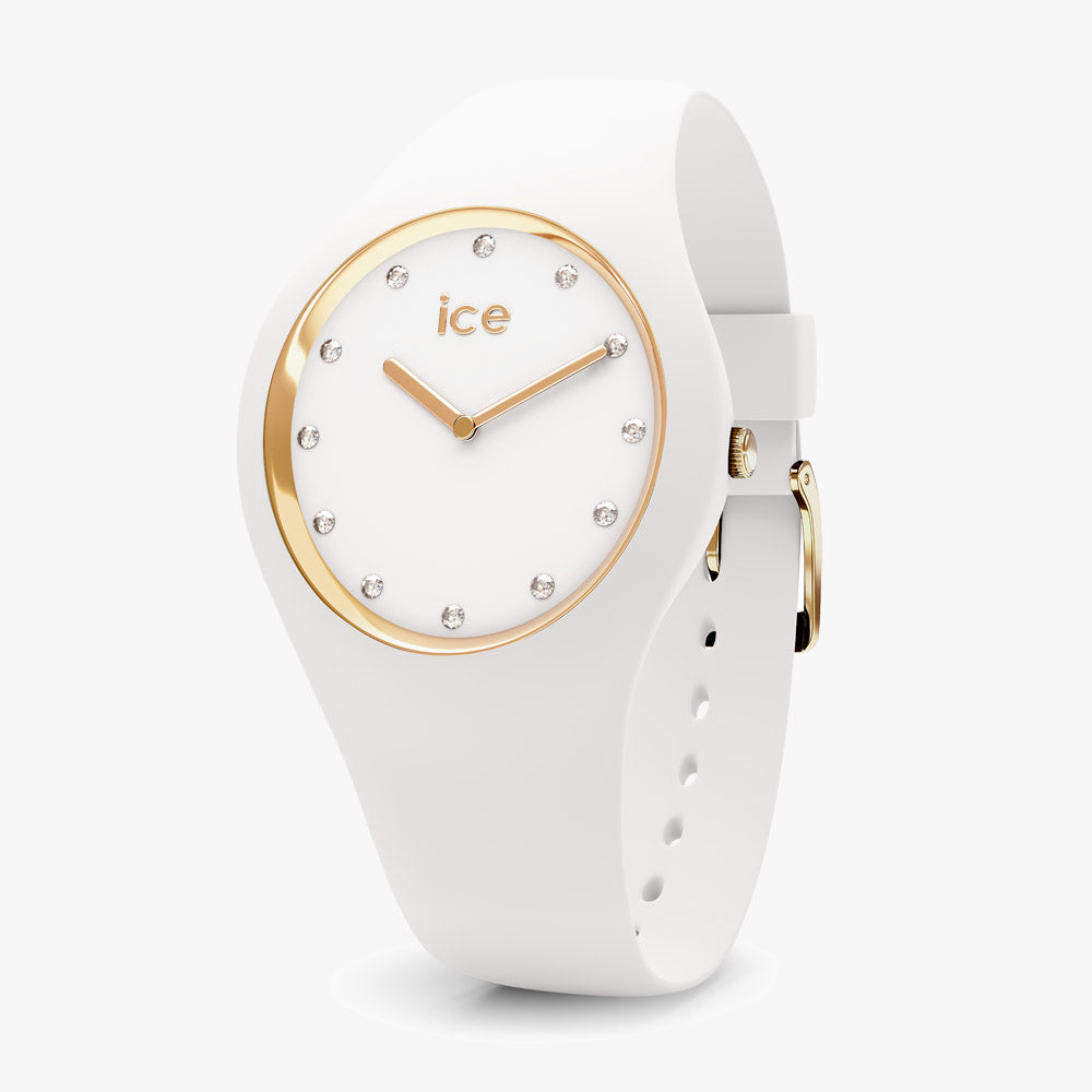 Ice-Watch Ice Cosmos Medium White IW016296 40 mm Damenuhr