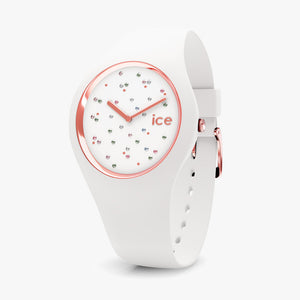 Ice-Watch Ice Cosmos Star White Medium IW016297 40 mm Damenuhr