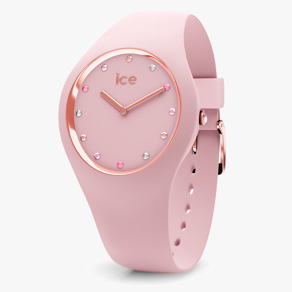 Ice-Watch Damen Uhr IW016299 ICE Cosmos Pink Shades Small