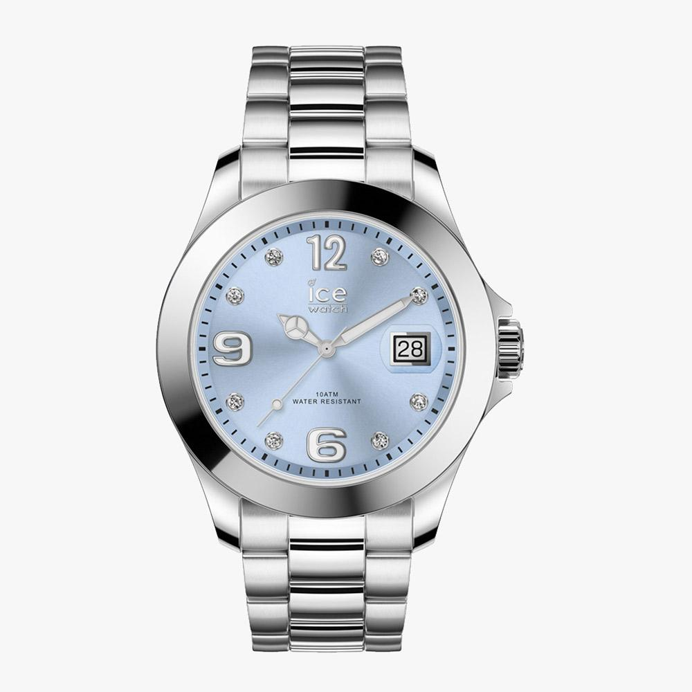 Ice-Watch ICE Steel - Classic Light Blue - M IW016775 Damenuhr 40 mm