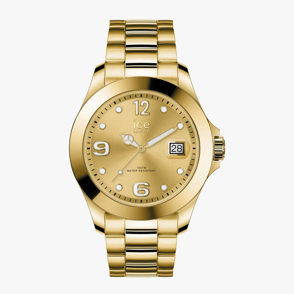 Ice-Watch ICE Steel - Classic Gold Full Shiny - M IW016777 Damenuhr 40 mm