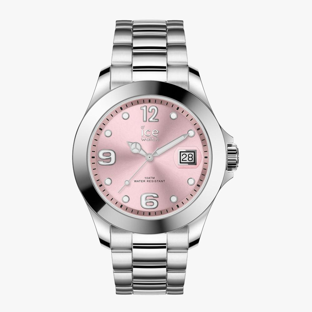 Ice-Watch ICE Steel - Classic Light Pink - M IW016892 Damenuhr 40 mm