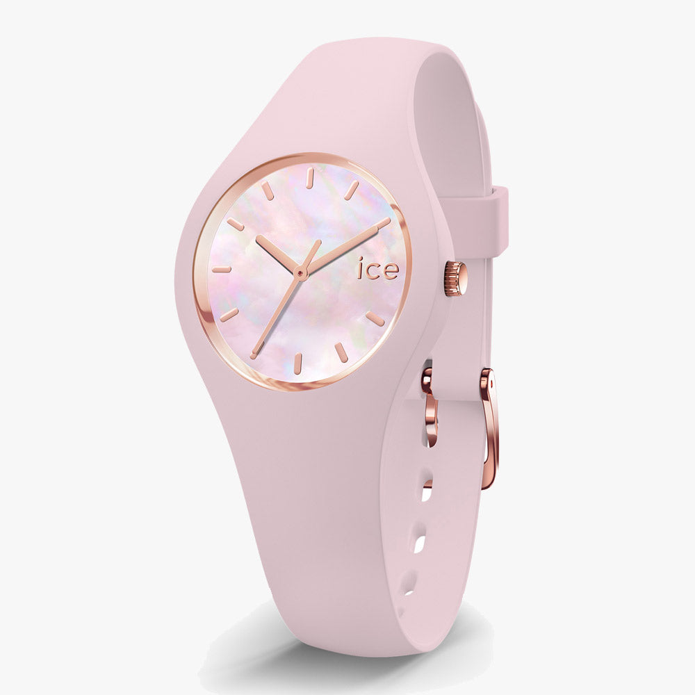 Ice-Watch Damen Uhr IW016933 ICE Pearl Pink Extra Small