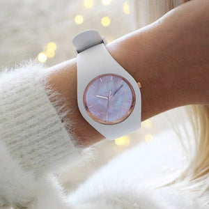 Ice-Watch Ice Pearl White Small IW016939 34 mm Damenuhr