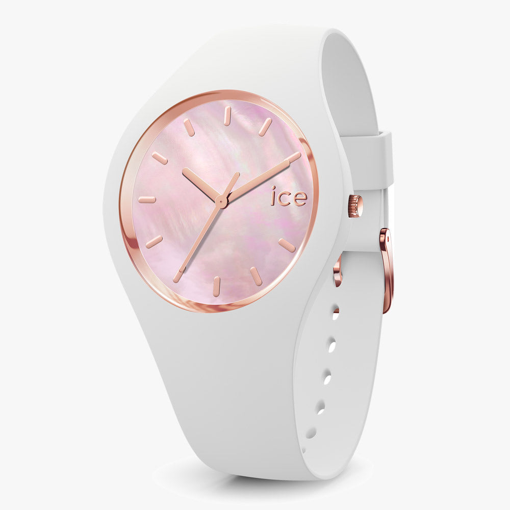 Ice-Watch Ice Pearl White Medium IW017126 40 mm Damenuhr