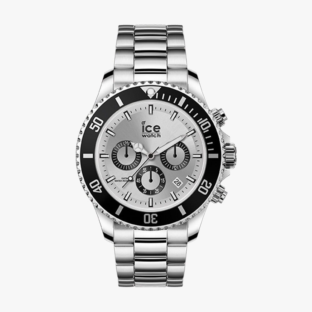 Ice-Watch Herren Uhr IW017671 ICE Steel White Icon