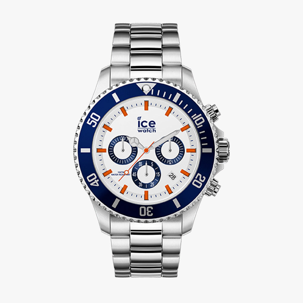 Ice-Watch Herren Uhr IW017673 ICE Steel Blue Ocean