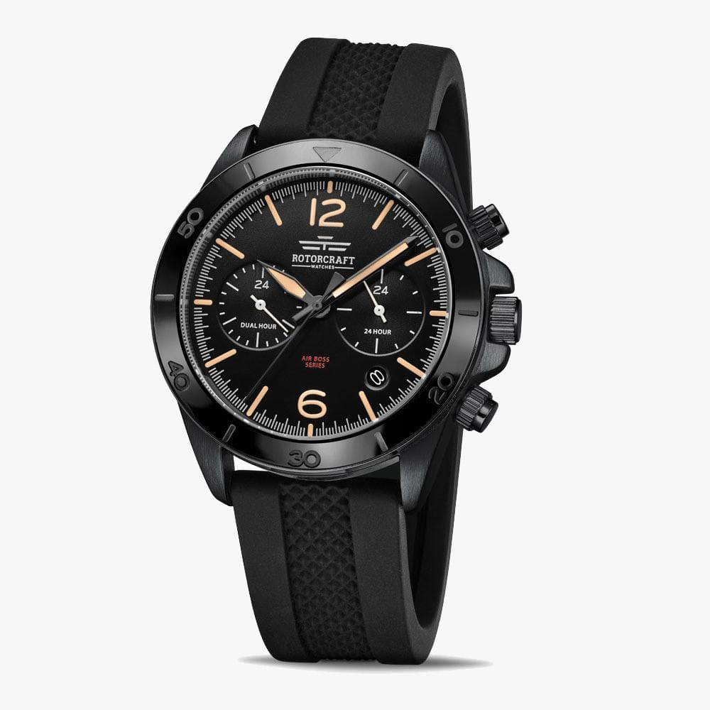 Rotorcraft RC1203 Air Boss Dual Time Herrenarmbanduhr