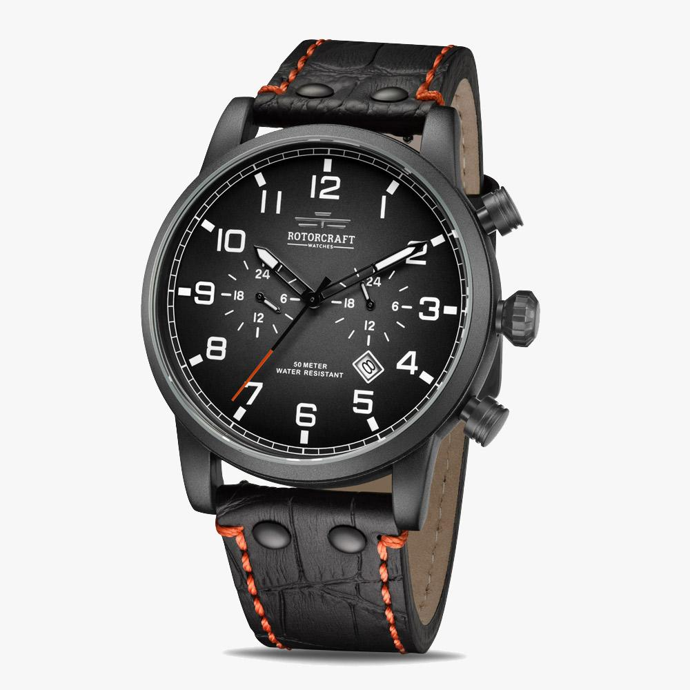 Rotorcraft Base RC1302 Dual time Herrenuhr