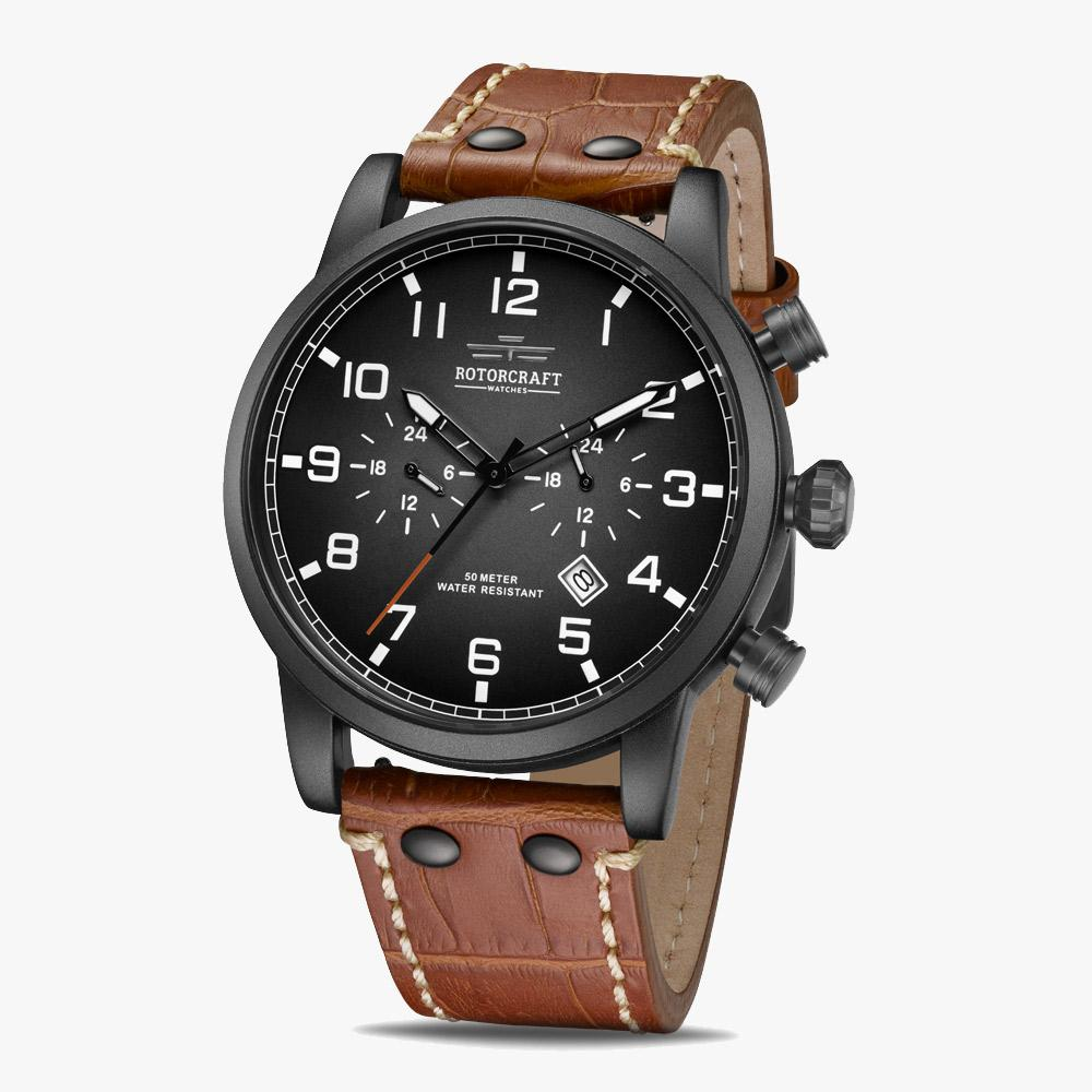 Rotorcraft Base RC1303 Dual time Herrenuhr