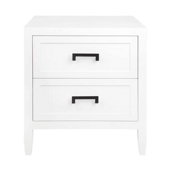 SULLY BEDSIDE TABLE - WHITE