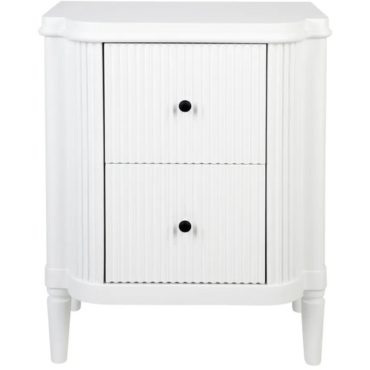 ARIELLE BEDSIDE TABLE - WHITE