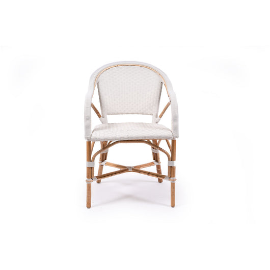 Capri Arm Chair - White