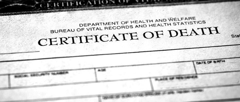 How to obtain Death certificate in Idaho
