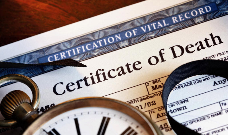 how to obtain the certificate of death in nevada