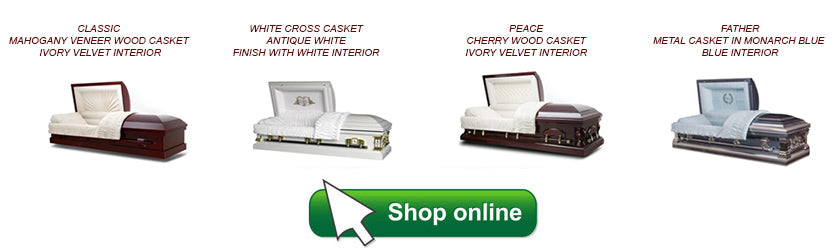 shop for caskets online