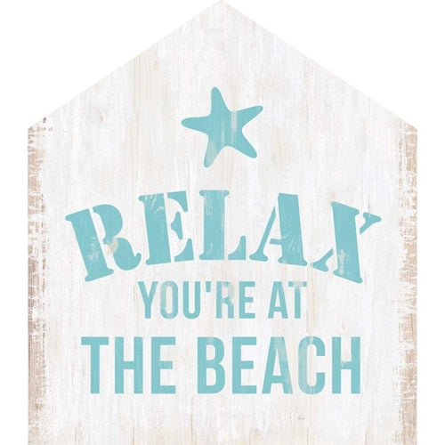 Relax You're at the Beach Block