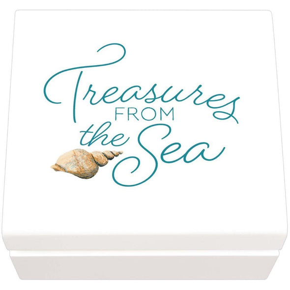 Treasures from the Sea Jewelry Box