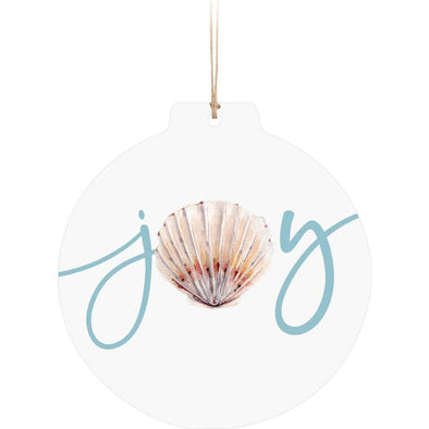 Joy Sand Dollar Ornament