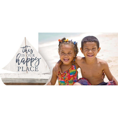 This is our Happy Place Frame