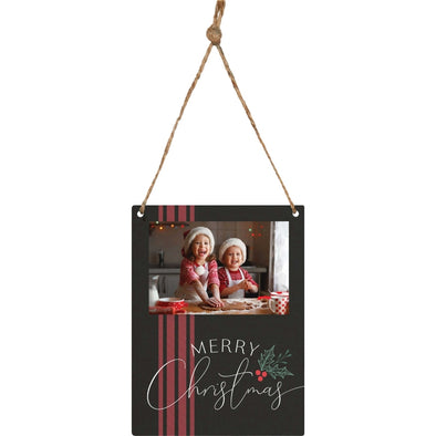 Merry Christmas Photo Frame Ornament