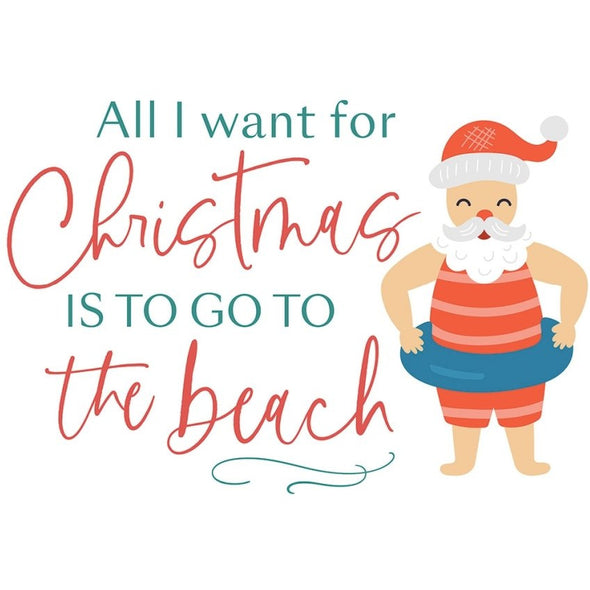 All I Want for Christmas Beach Block