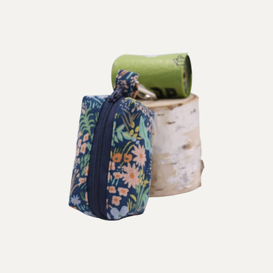 Willow Dog Poop Bag Holder-Floral