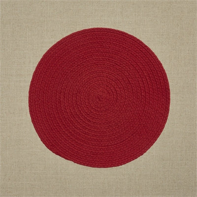 Essex Placemat - Red - Opal and Olive