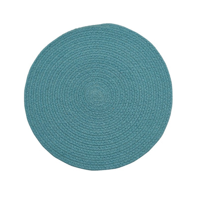 Essex Placemat Aqua - Opal and Olive