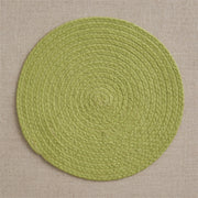 Essex Placemat Citron - Opal and Olive