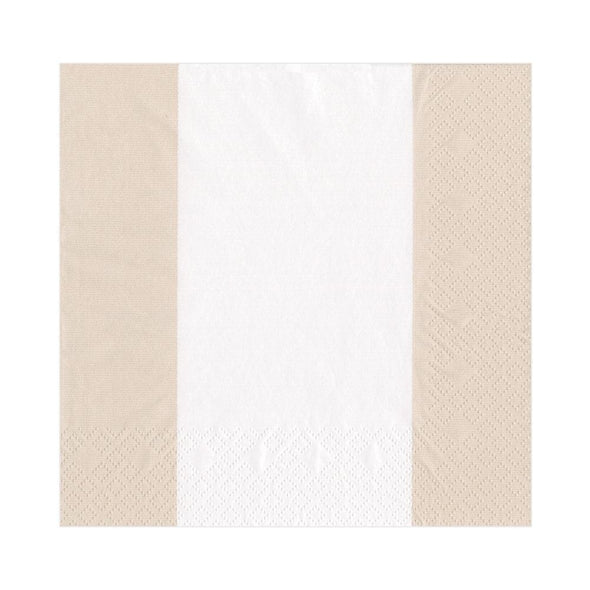 Luncheon Napkin - Bandol Stripe Natural