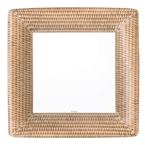 Rattan Dinner Plates Square
