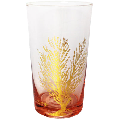 Rose Coral Oceania Highball Glass