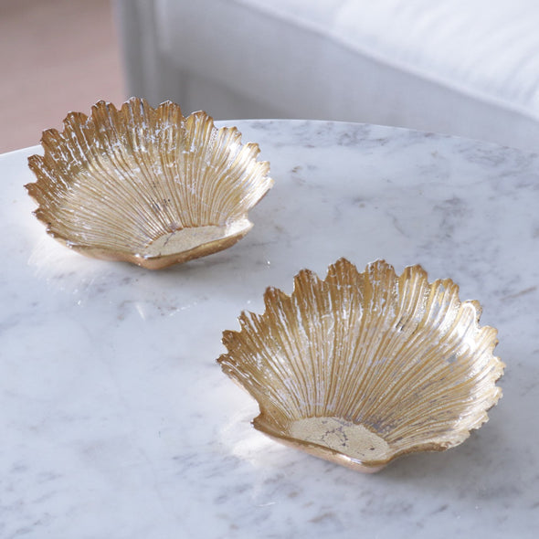 Gold Foil Shell Set/2