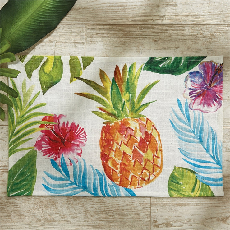 Tropical Paradise Placemat Pineapple