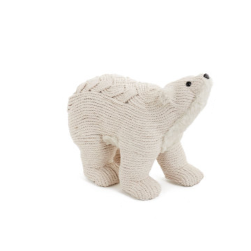 Woven Rope Bear Sm