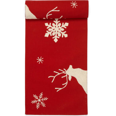 Reindeer Runner - Red 13x72
