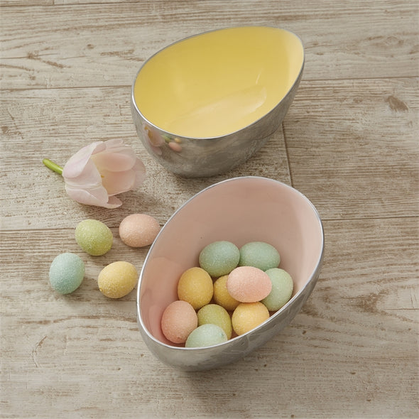 Egg Shaped Bowl Pink - Opal and Olive