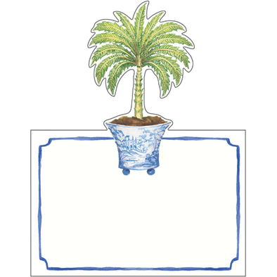 Potted Palms - Place Cards