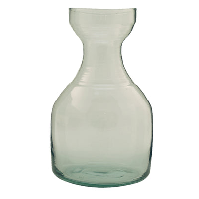 Recycled Glass Ripple Carafe Sm