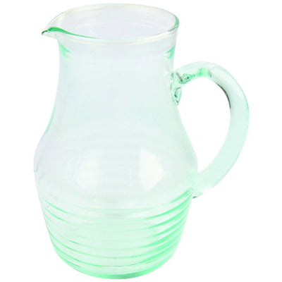 Recycled Glass Rings Pitcher Lg