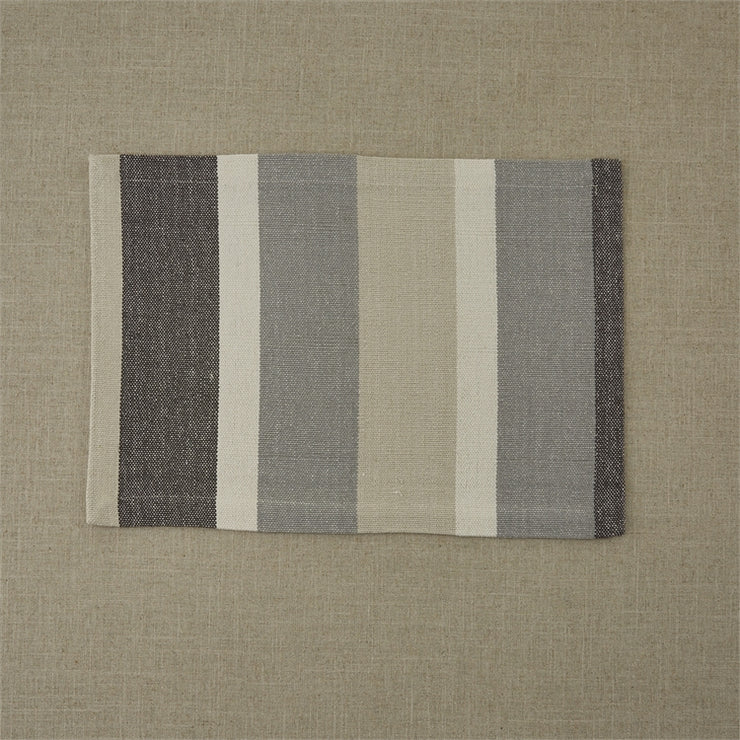 Serena Stripe Neutral Placemat